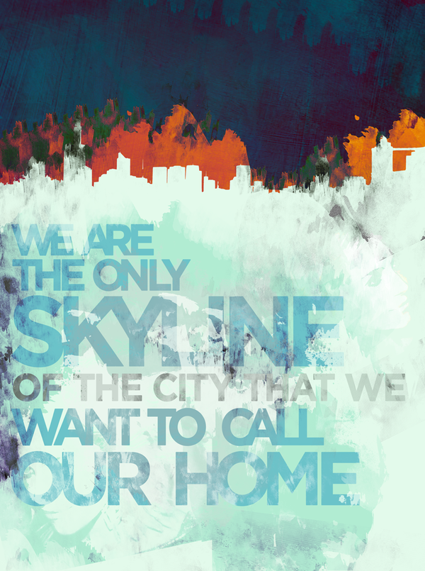IPS Skylines by Ian Fleming, via Behance