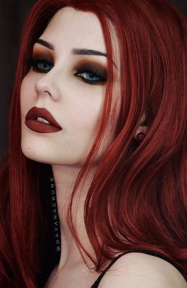 Pin by Gavin divine on Gothic Makeup and Shit! | Gothic ...