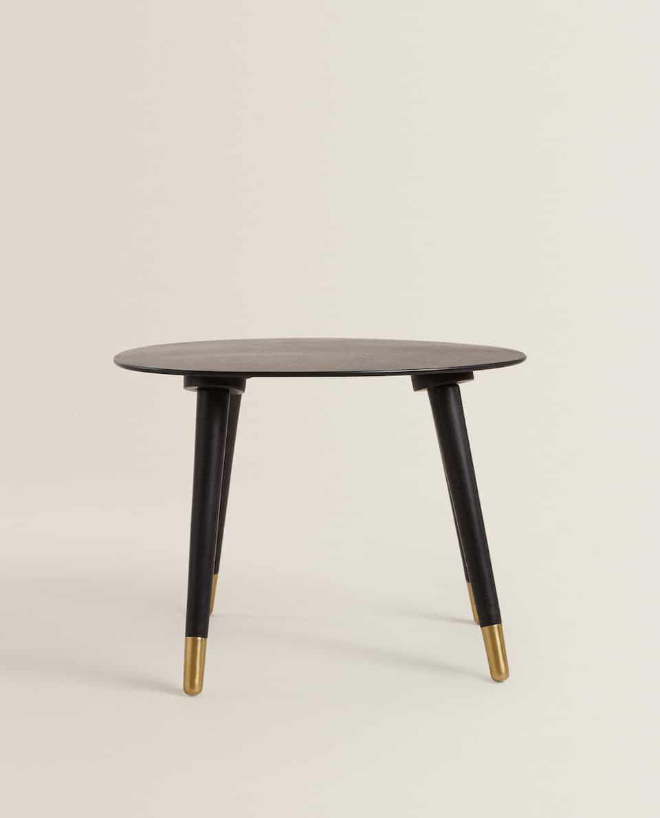 Side Table With A Bevelled Edge Furniture Living Room Zara Home United Kingdom Table Furniture Zara Home [ 1190 x 960 Pixel ]