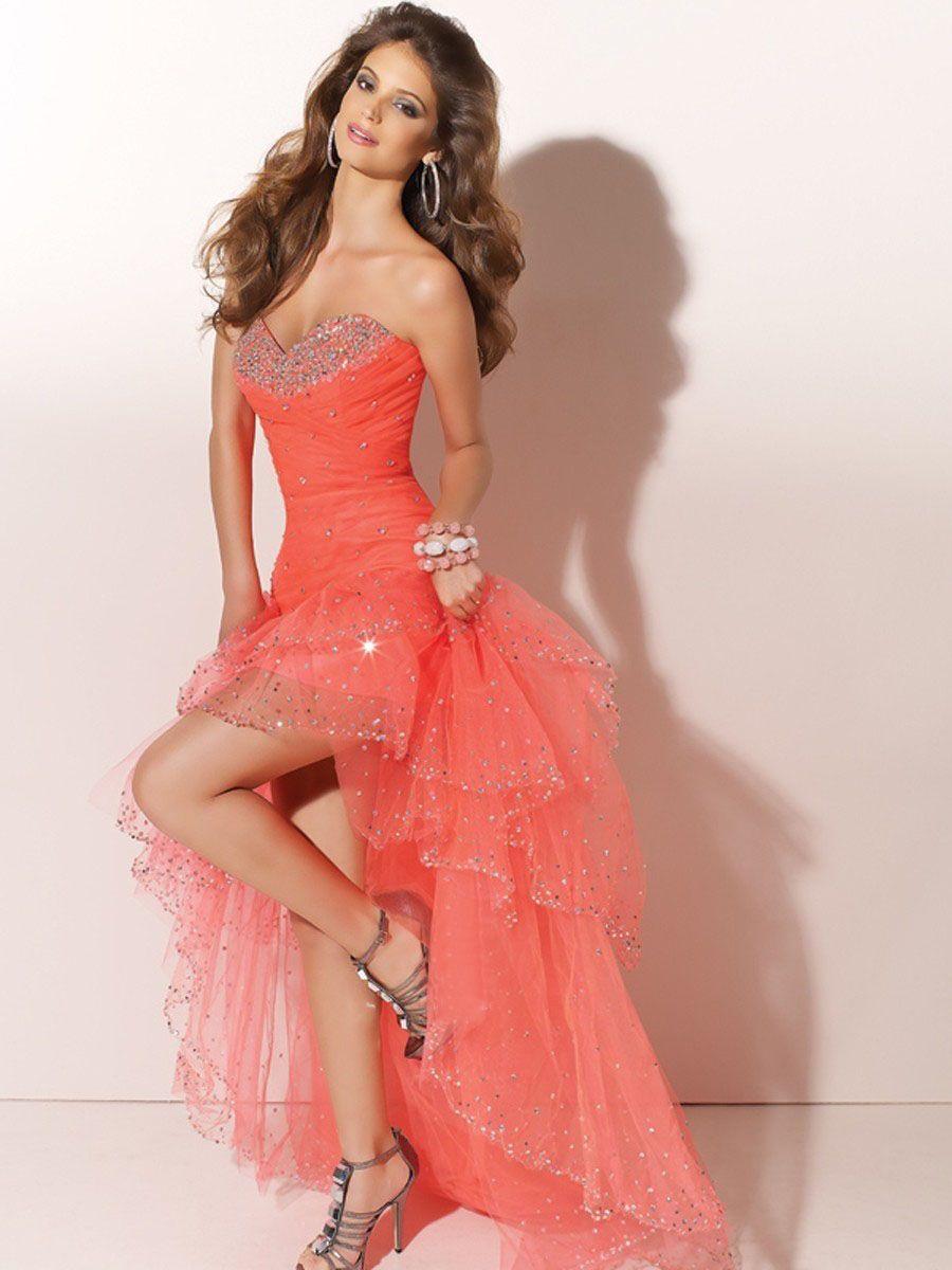 Like this dressdo you like it highlow dress pinterest high