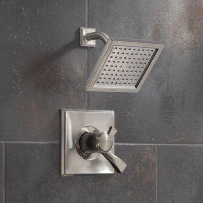 Delta Dryden Shower Faucet With Lever Handle Finish Spotshield