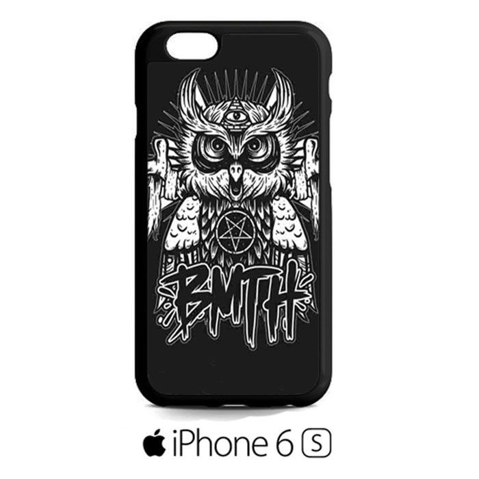 bring me the horizon poster iphone case