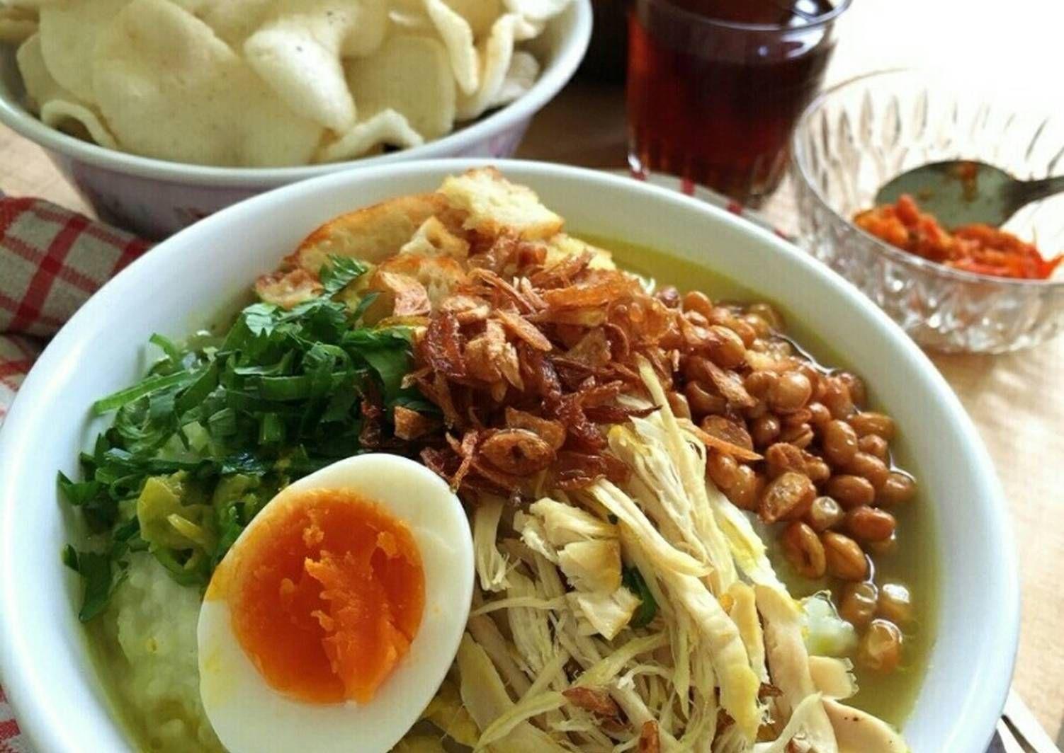 Resep Bubur Ayam Jakarta Pr Homemadestreetfood Oleh Cooking With Sheila Resep Resep Masakan Resep Masakan Indonesia Resep