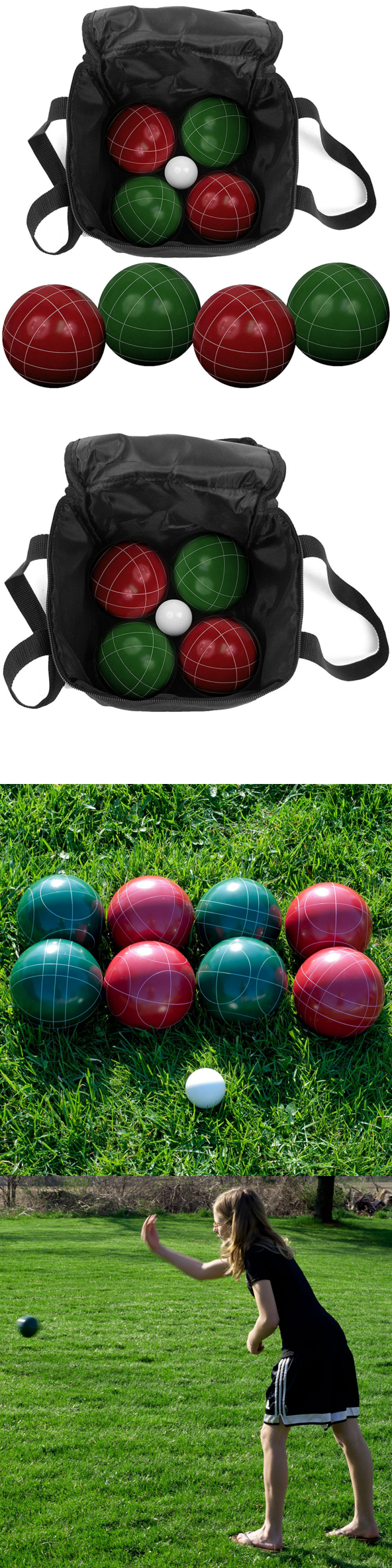 Bocce Ball 79788: Trademark Games Bocce Ball Set With Carrying Case - Various Licenses BUY IT NOW ONLY: $59.99