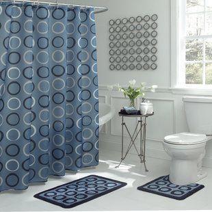 August Grove Narvaez Valentines Single Shower Curtain Shower Set Shower Curtain Sets