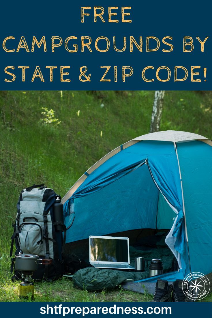 Photo of Free Campgrounds by State (and Zip Code!)