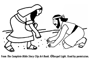 J06 God Provides Manna And Quail Children S Church Lessons Bible