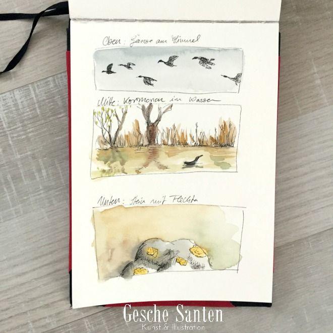 Ein Natur Skizzenbuch Ist Dir Zu Zeitaufwandig 3 Ideen Fur Den