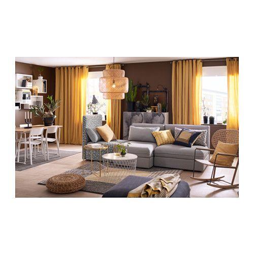 Living Room Sets Ikea: BIRKET Rug, High Pile, Yellow, Gray In 2019