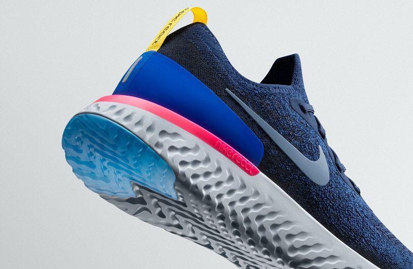 Nike epic react flyknit #nikemenrunningshoes