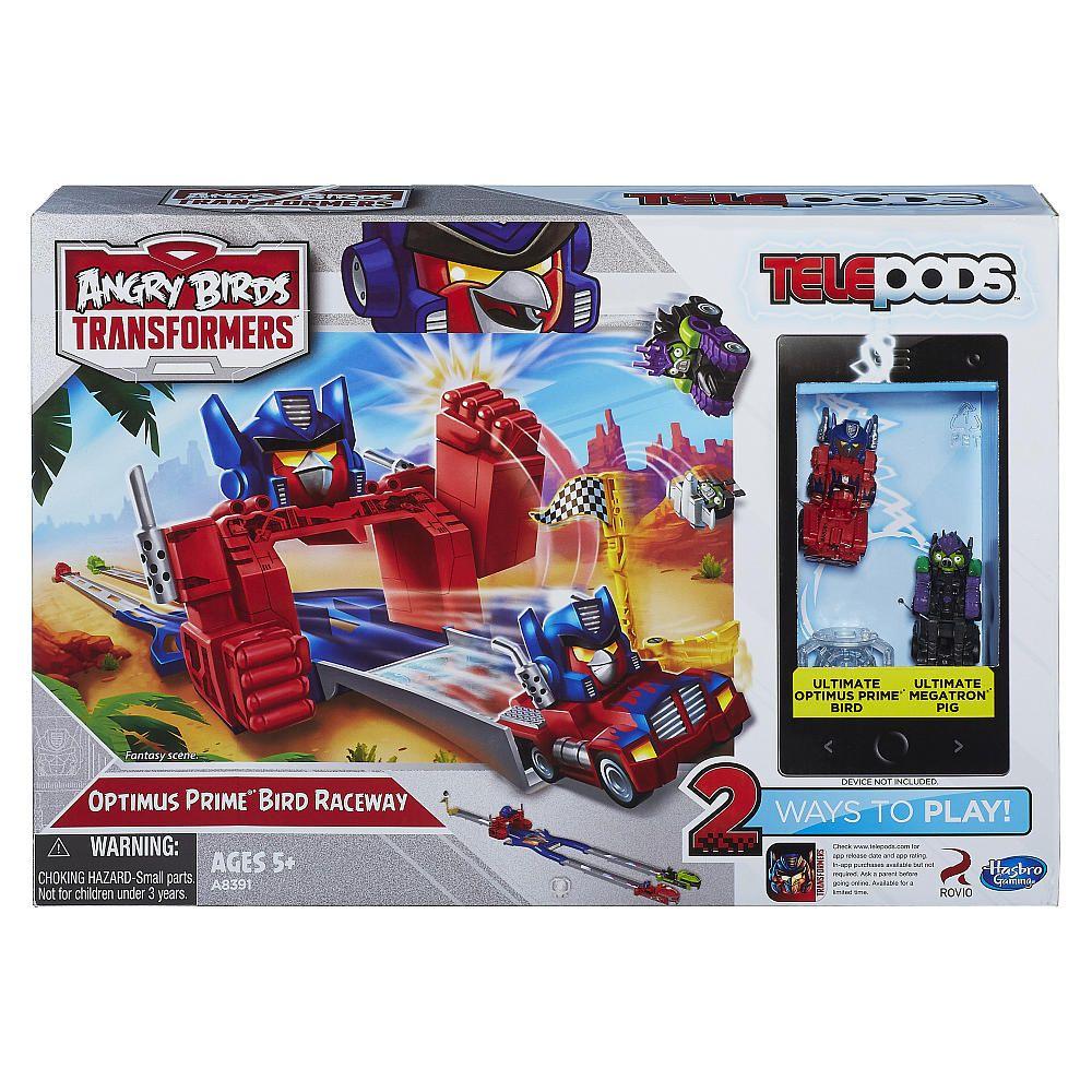 Birds Toys R Us : Angry birds transformers telepods optimus prime bird