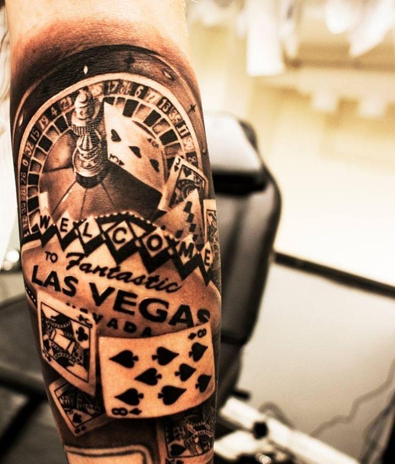 las vegas gambling tattoo chris tattoo stuff pinterest vegas tattoo and vegas tattoo. Black Bedroom Furniture Sets. Home Design Ideas