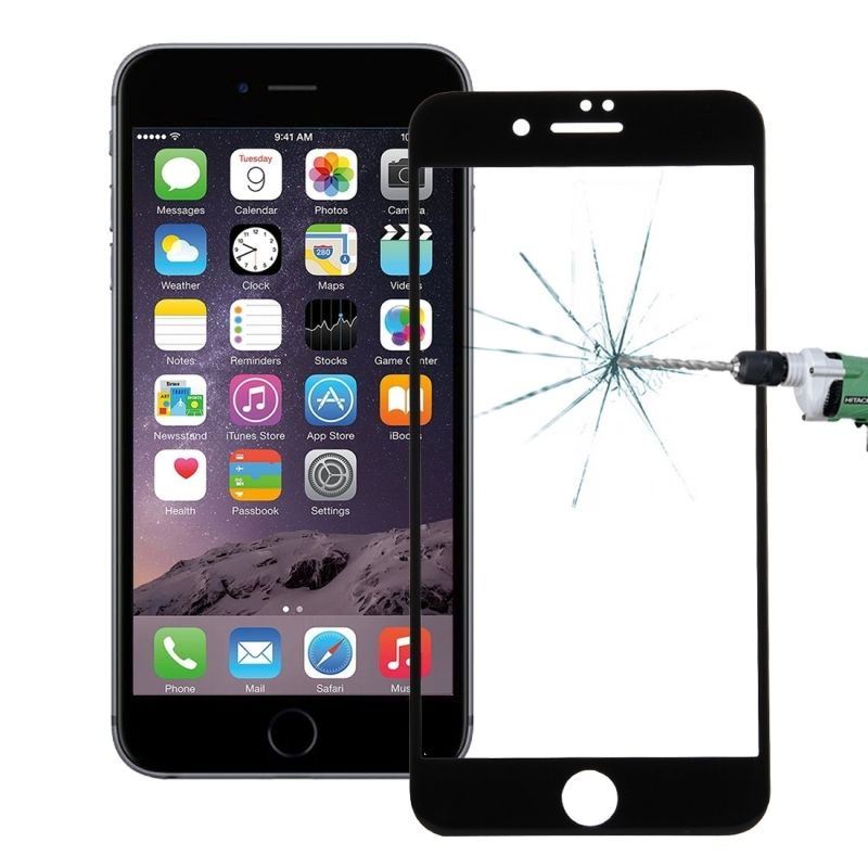 For iPhone 7 Glass Screen Protector 3D Curve Edge Full Cover Phone Tempered Front Screen Glass Protective Film For Apple iPhone7