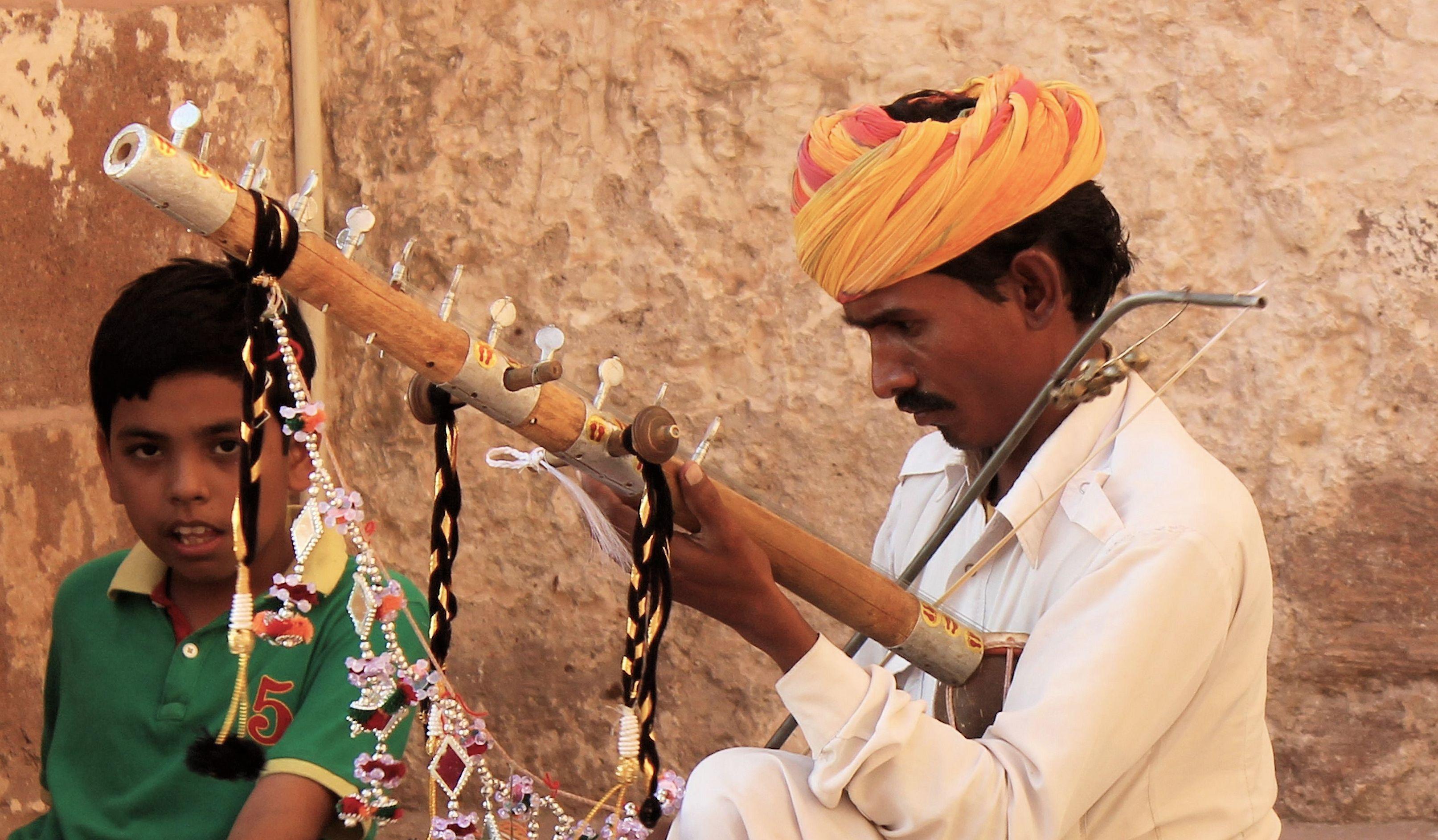 Joueur de kamanche portraits du rajasthan pinterest