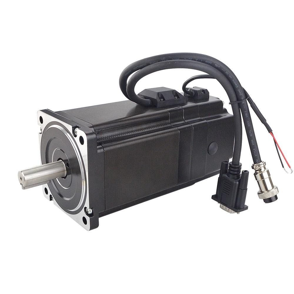 P Series Nema 34 Closed Loop Stepper Motor 8 5nm 1203 94oz In With Electromagnetic Brake With Images Stepper Motor