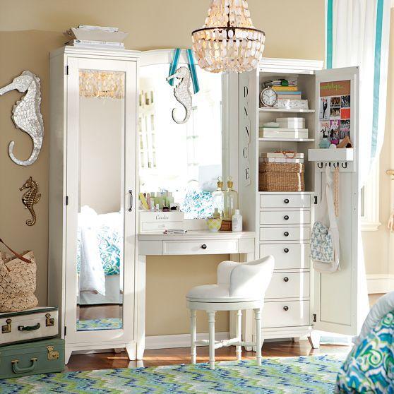 Hampton Vanity Set Dressing Room Design Furniture