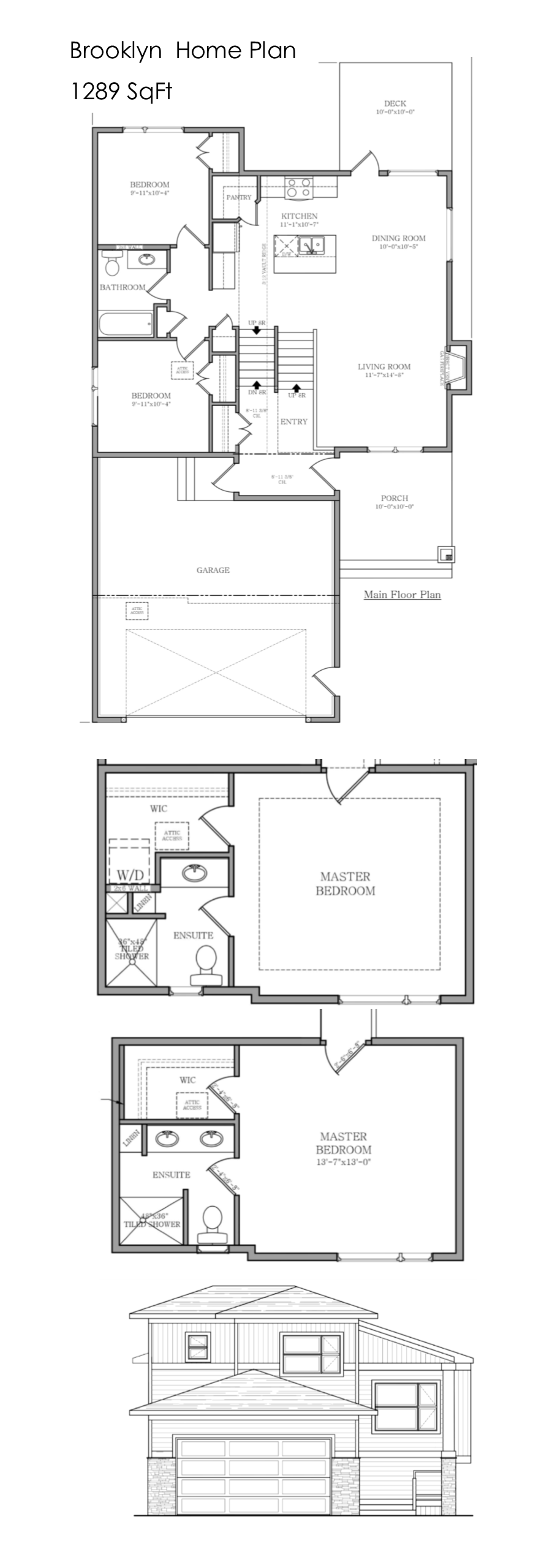 The Brooklyn Home Plan By Krest Homes Alberta Custom Home Builder Custom Homes House Plans Custom Home Builders