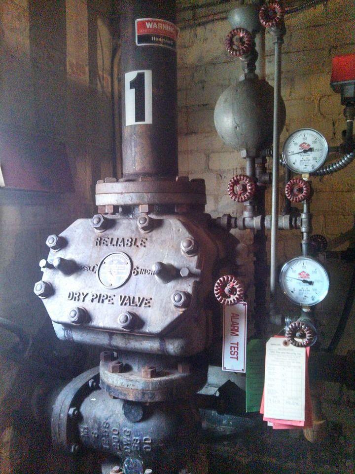 1956 Reliable alarm valve