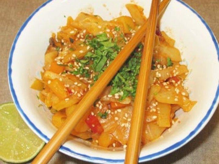 Low Carb Weißkohl nach chinesischer Art