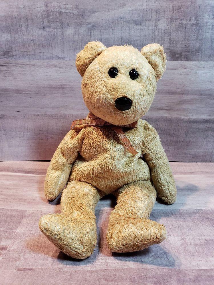 040b7b03e06 2000 Ty Beanie Baby Cashew Bear - Retired  Ty