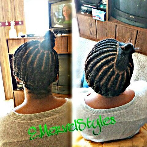 Side Part Sew In Braid Pattern | hair in 2018 | Pinterest | Braid ...