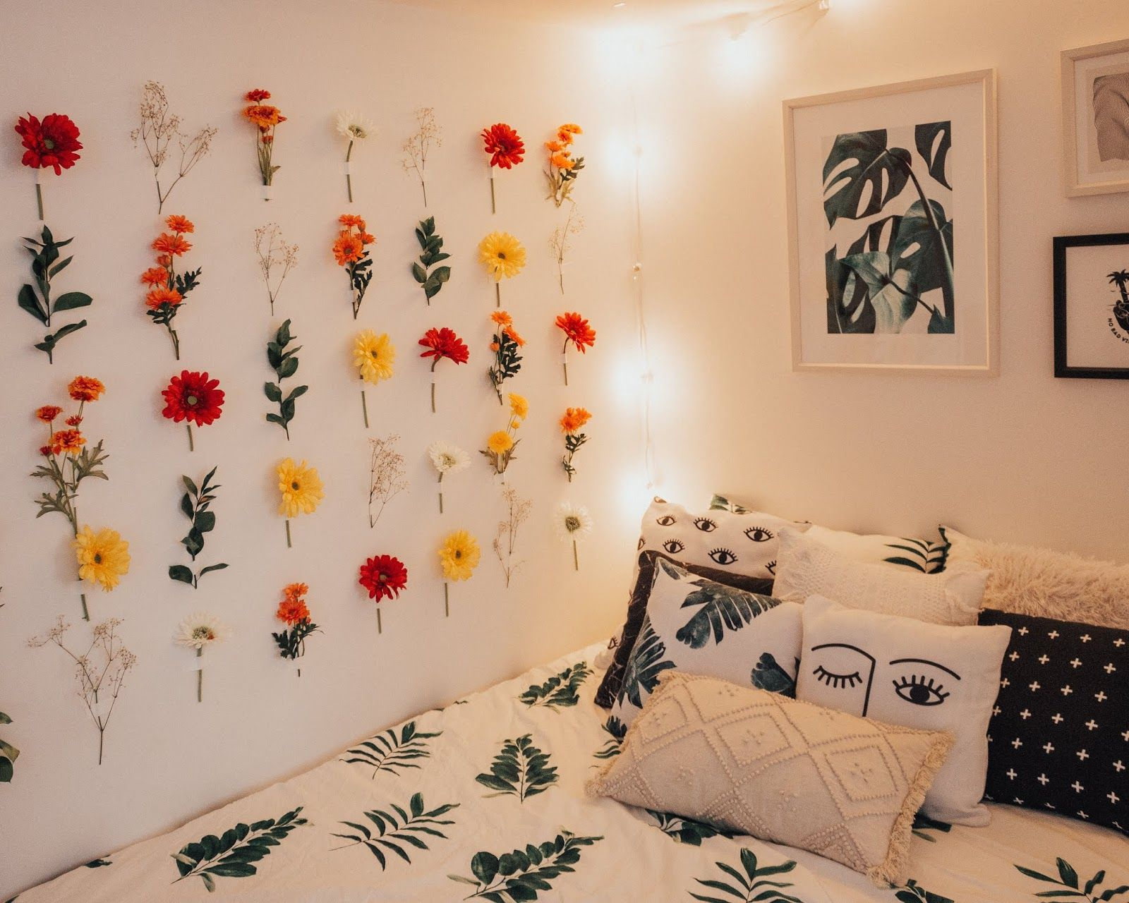 Diy Flower Wall How To Tips Flower Room Decor Diy Flower Wall Flower Wall