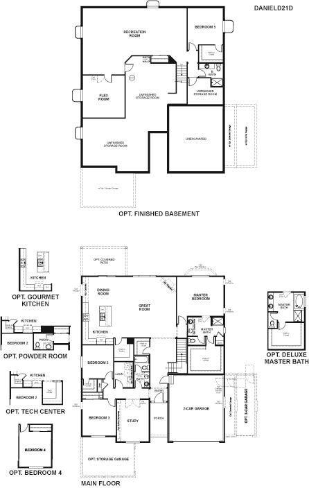 Richmond American Home Daniel Floorplan American Home Design Richmond American Homes Richmond American