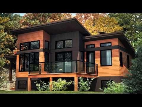 Chalet Usinee Prefabriqued Chalet House Designs Exterior House Exterior Prefabricated Houses