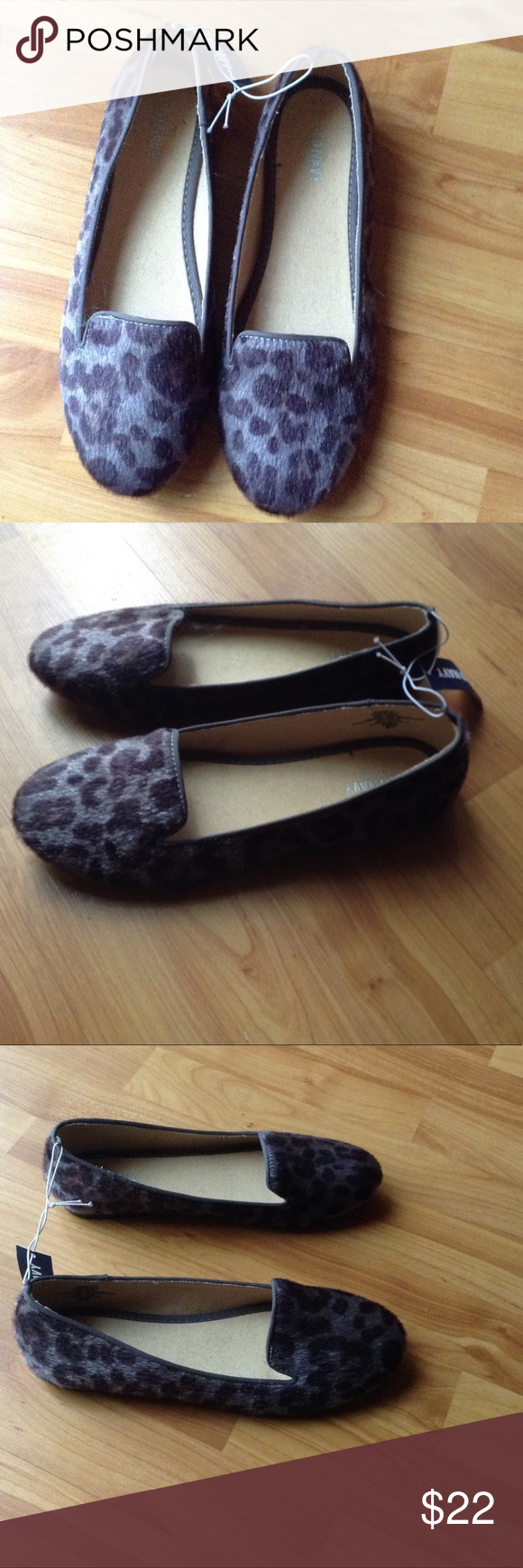 Brand New Animal Print Flats Brand New Animal Print Flats; Faux 'Hair' Material; These flats will make any basic outfit pop! Old Navy Shoes Flats & Loafers