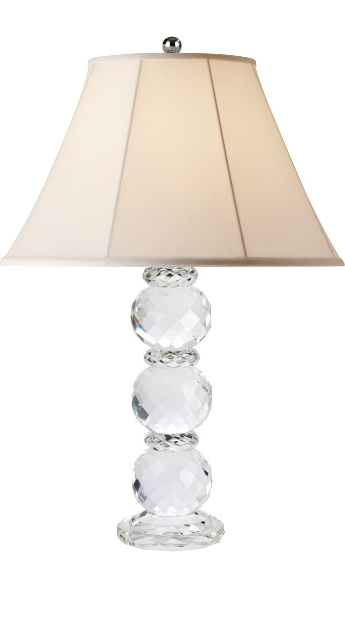 Instyle decor glass table lamps designer table lamps modern pretty table lamp it would reflect light nicely with all the facets geotapseo Images