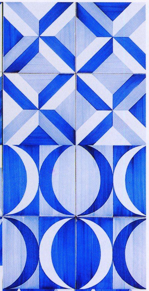 Este es el dise o de los azulejos empleados en la reforma for Concreto de cera en los azulejos del bano