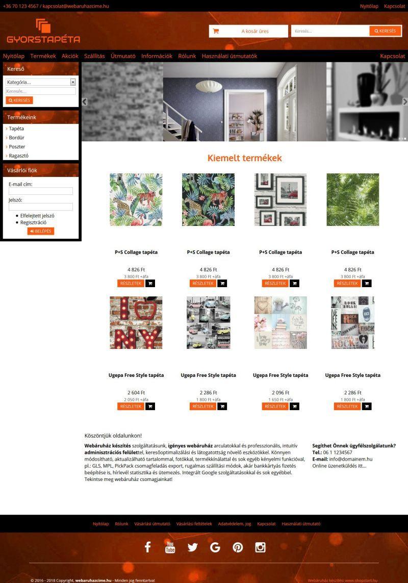 7a9a3b51df Gyorstapéta webáruház | Arany, barna, bézs, bordó, csíkos, ezüst, fekete