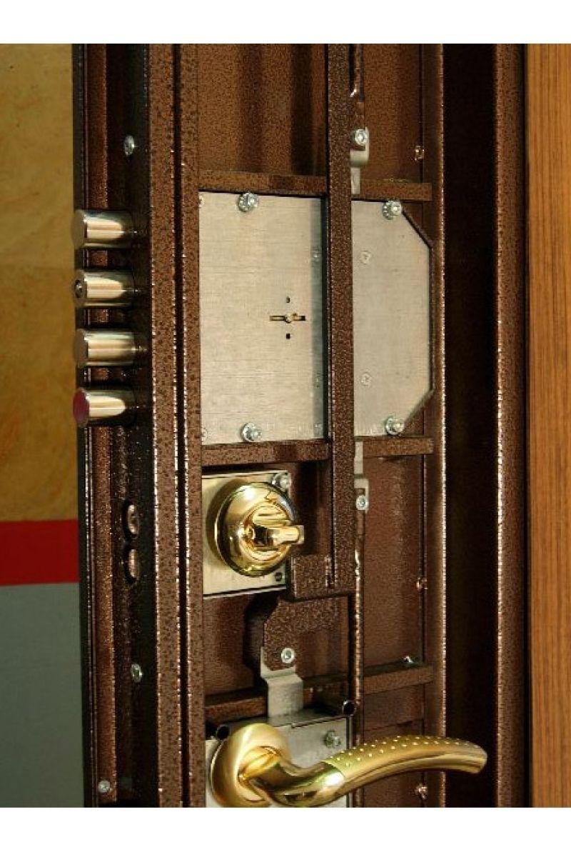 High security external door handles front door handles