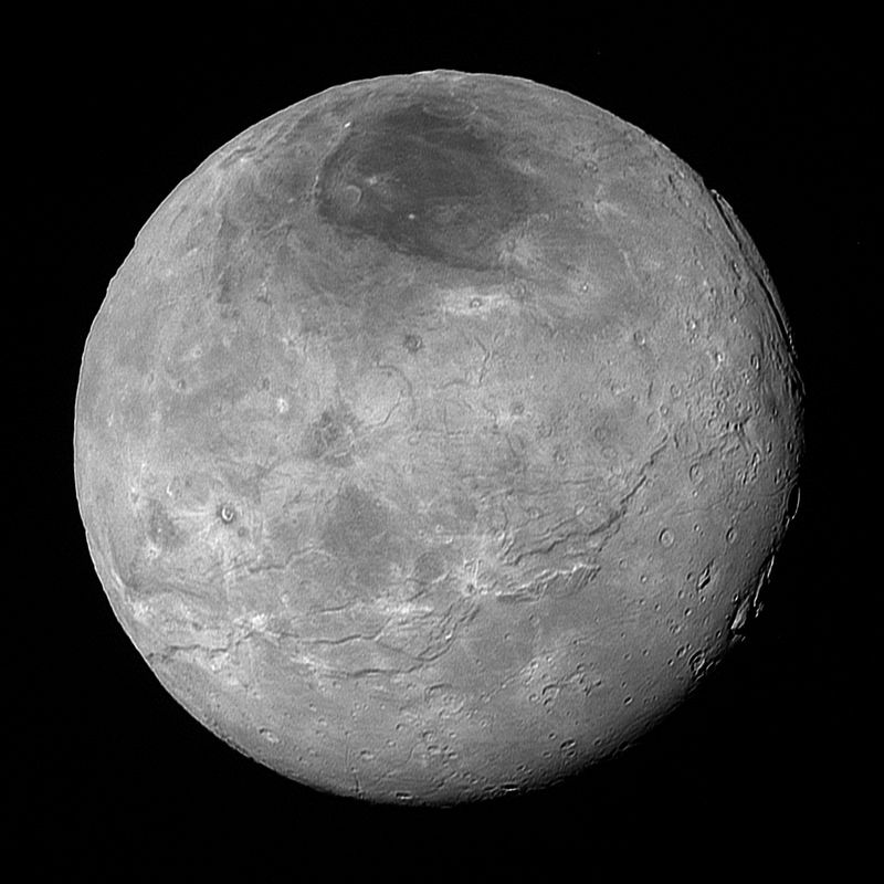 pluto's moons nix and hydra - 800×800