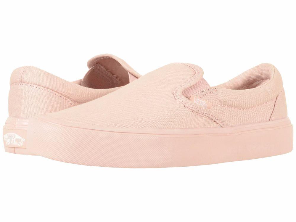 pink low top vans mens