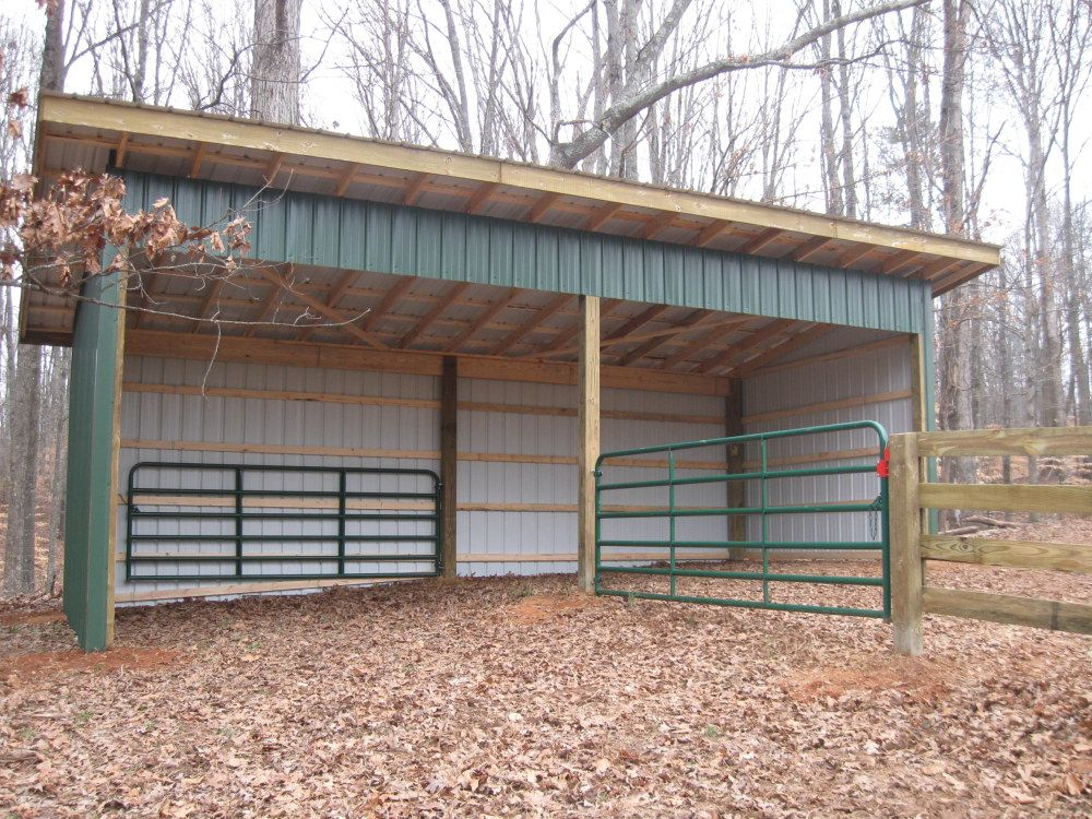 Small Hay Storage Shelter : Georgia sheds perfect just needs tack room and hay