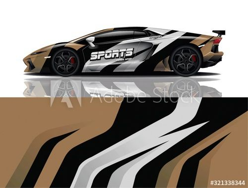 Sports car wrapping decal design , #Ad, #car, #Sports, #wrapping, #design, #decal #Ad