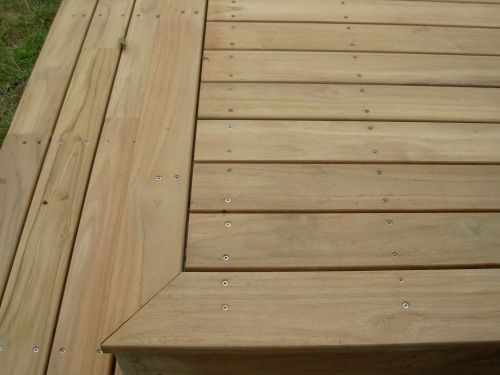 Terrasse en bois Teck Outside Terrace Pinterest Decking