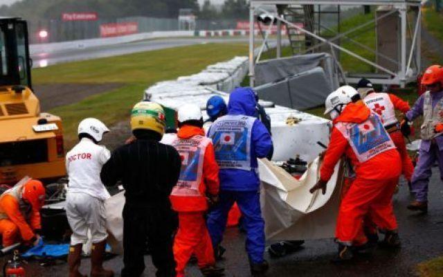 F1 Bianchi  ha subito un grave trauma cranico ed è in sala operatoria. #f1 #bianchi #giappone #incidente