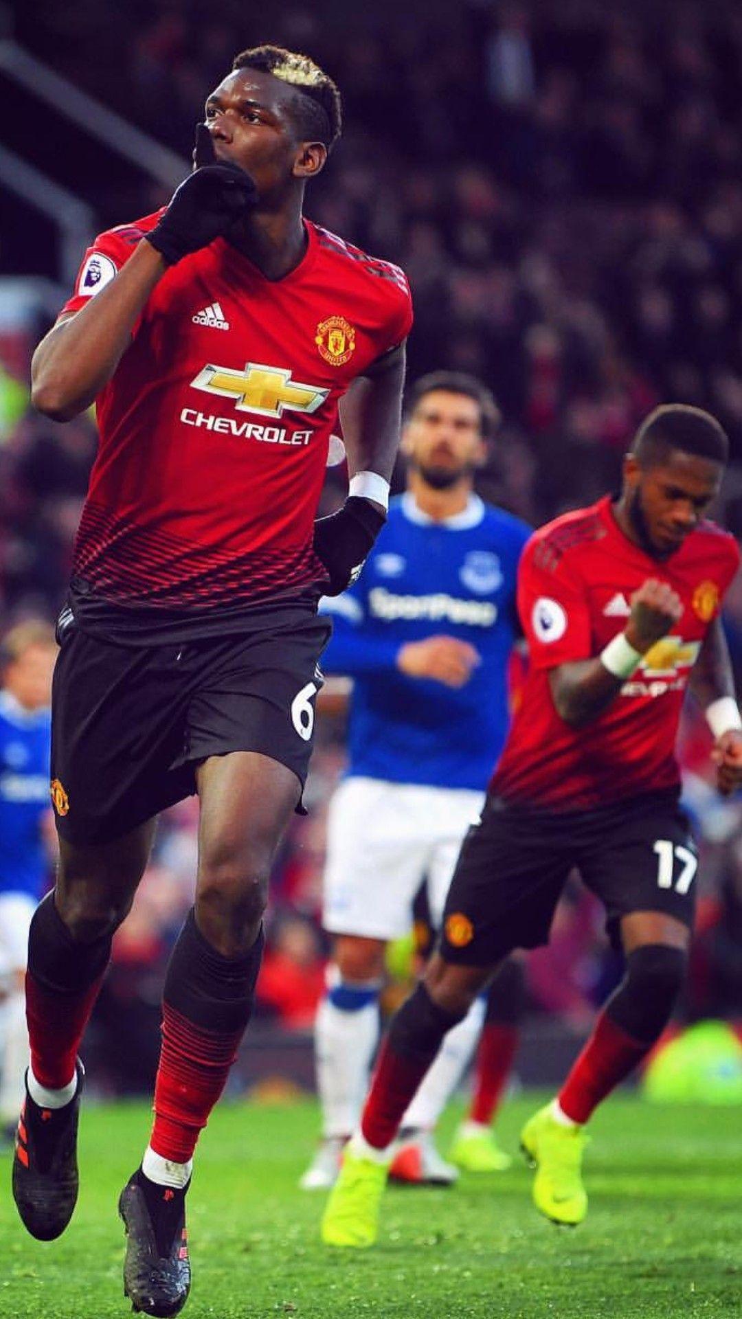 Pogbaa Scores Vs Everton Paulpogba Manchesterunited 2 1 Everton Manchester United Football Manchester United Manchester United Wallpaper