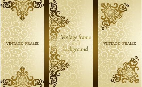 Luxury Vintage Frame Vector Background Free Vintage Frames Vector Vintage Frames Vector Background
