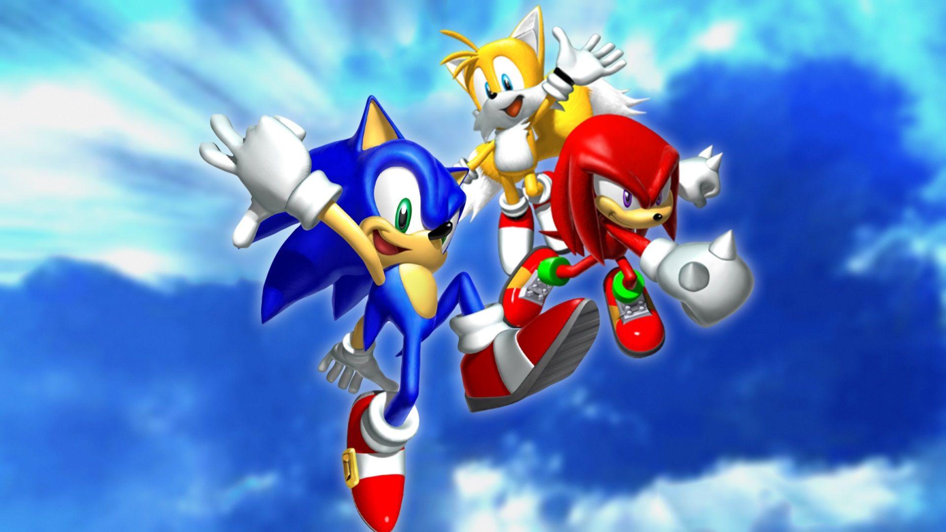 Sonic Heroes Trio [1920x1080] Sonic heroes, Hedgehog