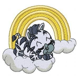 BABY ZEBRA IN THE SKY