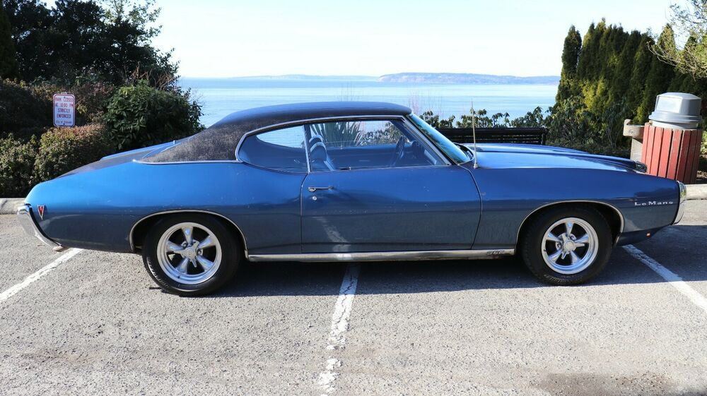 1969 Pontiac Le Mans Sport Coupe 1969 Pontiac Lemans Sport
