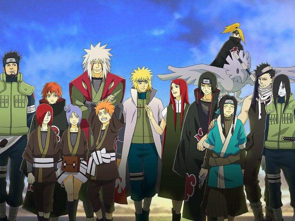 Naruto Shippuden Uchiha Itachi Haku Minato Namikaze ...