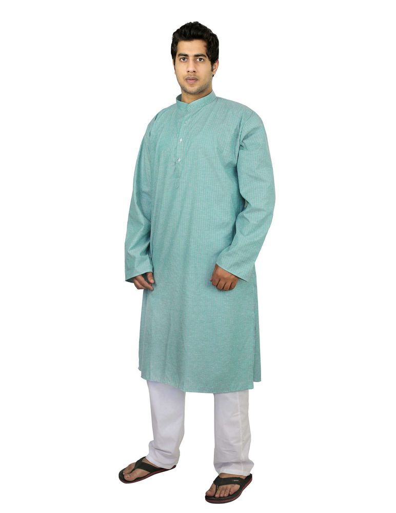 Indian Ethnic Outfit Kurta Pajama Set For Men Gifts, Size ...