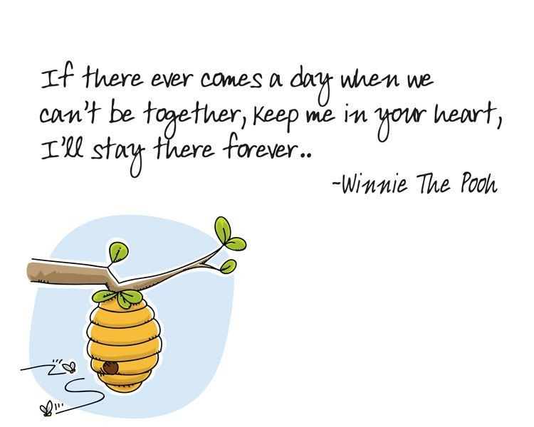 If There Ever Comes A Day Winnie The Pooh Quote Pooh Quotes