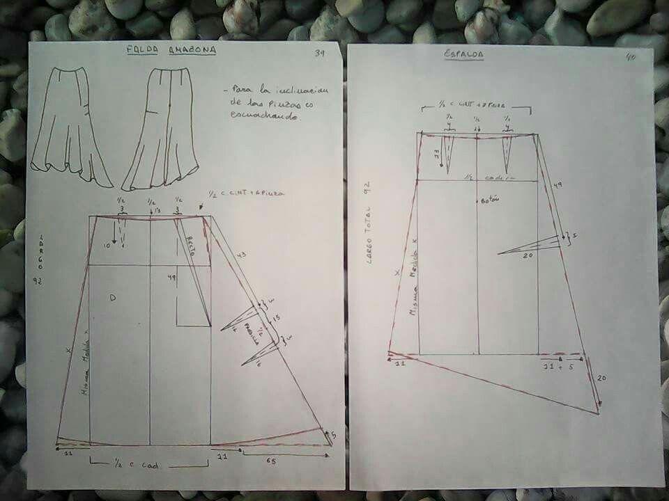 Resultado de imagen de falda amazona oficial | Costura | Pinterest ...