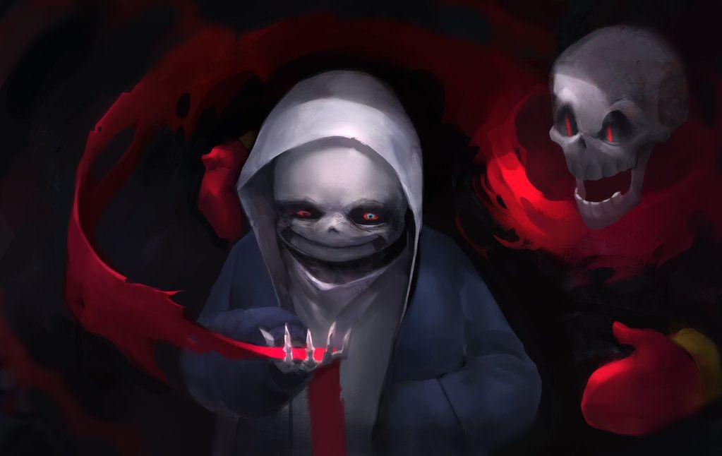 Dusttale Murdersans by KORHIPER on DeviantArt