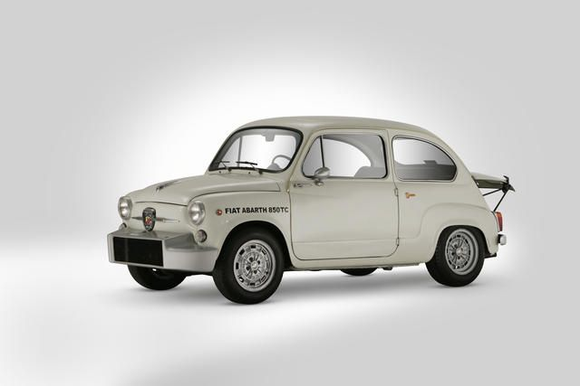 1961 Fiat Abarth 850 Tc Nurburgring Corsa Berlina Four Seat